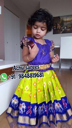 Girls Frock Design, Kids Frocks Design, Baby Frocks Designs, Baby Dress Design, Kids Dress Wear, Kids Gown, Dresses Kids Girl, Kids Outfits, Kids Saree