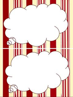 Printable cloud thinking - tag - note