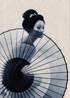 """taishou-kun: """" Shinoyama Kishin 篠山 紀信 Enami Kyoko 江波杏子 - Japan - 1968 Source Vincent Soulié @VSoulie """""""