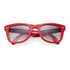 7dfbbf88861 Ray-Ban Wayfarer Folding Classic Red Sunglasses