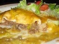 green chili stuffed sopapilla | Food | Pinterest