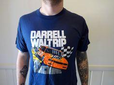 Vintage Darrell Waltrip Racing Tshirt 1980s by WylieOwlVintage, $18.00