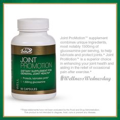 Joint ProMotion™ is an #AdvoCare supplement for general joint health.*