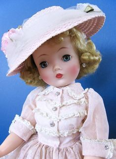 BEAUTIFUL VINTAGE 1958 CISSY DOLL IN VHTF ORIG. #2230 OUTFIT BY MADAME ALEXANDER    eBay