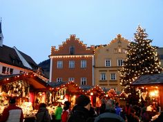 Christmas Markets in Sterzing - Vipiteno. South Tyrol, Italy.