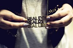 real eyes realize real lies :: brass necklace from allumette shop Favorite Quotes, Best Quotes, Real Facts, Tumblr Photography, Canon Photography, Favim, Swagg, Wise Words, Just In Case