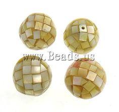 Gelbe Muschel Perlen  http://www.beads.us/de/Produkt/Gelbe-Muschel-Perlen--_p16127.html
