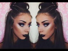 Purple Smoky Eye | Chit Chat GRWM ♡ Danielle Mansutti - YouTube