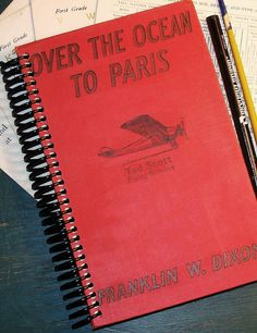 Sketchbook All About the First Flight to Paris by StoriesDivinations on Etsy