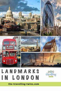 Landmarks in London - 18 Most Famous London Landmarks London Bridge, Tower Of London, London City, London Eye, London Landmarks, Famous Landmarks, Millennium Bridge, Big Ben London, London Instagram