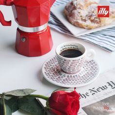 Rich, Italian tradition passed down with love. Celebrate 'stove top' coffee in style this Valentine's Day.