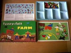 Vintage Fuzzy Felt Farm - came with a felt board and felt figures 1980s Childhood, My Childhood Memories, Sweet Memories, Retro Toys, Vintage Toys, Just In Case, Just For You, Fuzzy Felt, Baby Boomer