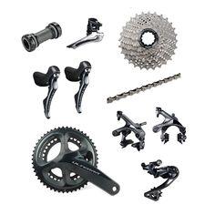 Shimano Ultegra R8000 2 x 11 speed 50/34T 11-28T Road Bike Groupset Build Kit #Shimano