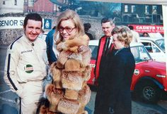 Paddy Hopkirk & his wife Jenny at the 1969 Circuit of Ireland.