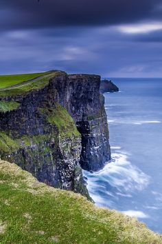 THE CLIFFS OF MOHER, IRELAND...Alone in Moher by Carlos M. Almagro