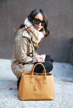 beautiful Prada bag. need now