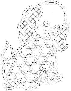 ampliar Bobbin Lace Patterns, Lacemaking, Point Lace, Punch Needle, Cute Crochet, Coloring Pages, Macrame, Quilts, Knitting