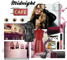 """Midnight Cafe"" by aakinal on Polyvore"