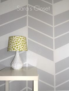 Herringbone Wall DIY like this version for one wall
