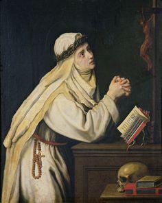 St. Catherine of Siena | http://www.saintnook.com/saints/catherineofsiena
