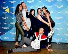 """"""" Vella Lovell, Pete Gardner, Rachel Bloom, Donna Lynne Champlin, Vincent Rodriguez III and Gabrielle Ruiz attend the 2017 Vulture Festival on May 2017 in New York City """" My Crazy Ex Girlfriend, Movies Showing, Movies And Tv Shows, Crazy Ex Gf, Rebecca Bunch, Vulture Festival, Broken Inside, Crazy Ex Girlfriends, Comedy Show"""