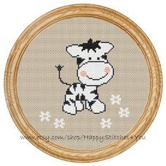 Cross Stitch Pattern PDF zebra DD0013                                                                                                                                                                                 Mais