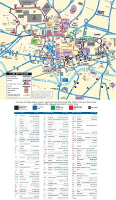 Oxford city center map Maps Pinterest Oxford city and City