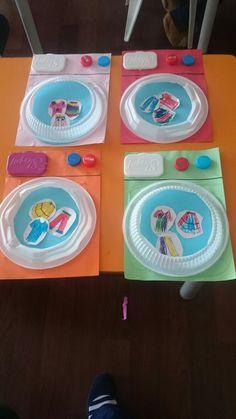 Preschool Art, Preschool Learning, Diy And Crafts, Arts And Crafts, 3d Artwork, Plate Crafts, Eeyore, 3d Projects, Child Development
