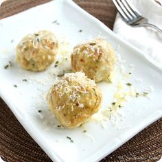 """""""Canederli"""" Northern Italian Bread Dumplings, great way to use 2 cups worth of stale bread!"""