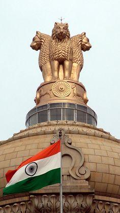 National Emblem Of India Satyamev Jayate Vector Free Vector