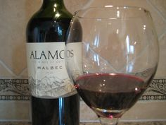 Another malbec. This one is by Alamos and is pretty good. I like it because it's only $9!
