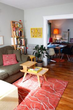 Emily & Nate's Cozy Cocoon House Tour | Apartment Therapy