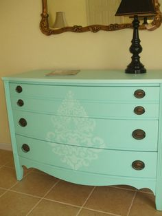 Coastal Cottage Dresser