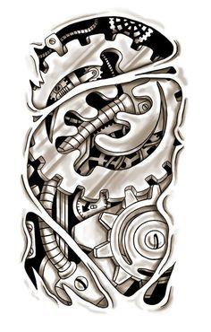 steampunk tattoo - Поиск в Google