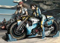 Hermosa imagen compartida en #FB por Motociclismo Classico.