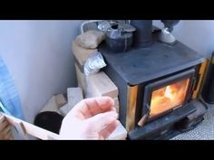 Woodstove Tips and Tricks for more efficiency - YouTube