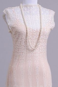 Knitting Patterns Lace Dress : 1000+ images about Vintage lace knitting on Pinterest Vintage knitting, Kni...