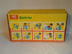 Kinder-Küchenmaschine Katrin, Kartonansicht