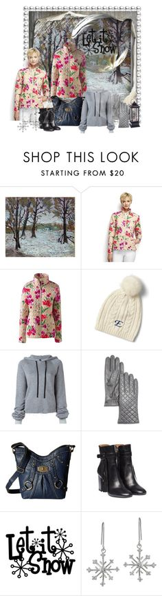 """""""let it snow"""" by snowmoon ❤ liked on Polyvore featuring Lands' End, Unravel, Bloomingdale's, b.o.c. Børn Concept and Icz Stonez"""