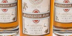 Rusticator Rum packaging