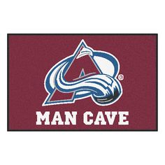 Colorado Avalanche NHL Man Cave Starter Floor Mat (20in x 30in)