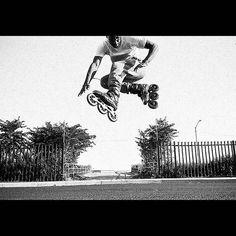 Forget about Redbull, Skates gives you wings   @corteznyc #Triskates #Freesskating #urbanskates #Powerslide #welovetoskate #megacruiser #125mm