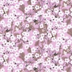 Liberty Fabric Tana Lawn Mitsi X Mauve - Alice Caroline - Liberty fabric, patterns, kits and more - Liberty of London fabric online