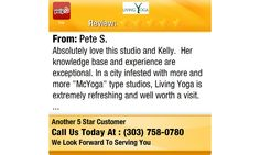 Absolutely love this studio and Kelly. Her knowledge base and experience are...