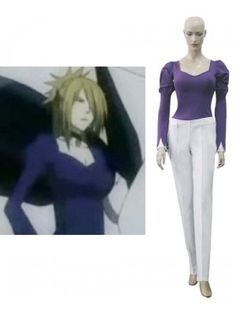 D.Gray-Man Klaud Nine Cosplay Outfits Costumes