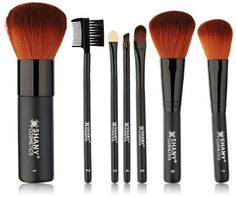 SHANY Studio Quality Cosmetic Brush Set, 7 Piece with Bag in Pakistan | online shopping at magiclamp.pk