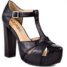 #Report Palin - Black  Street Fashion #fashion #street #nice   www.2dayslook.com
