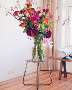 Big bouquet of amazing flowers.