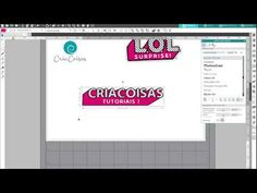 (2319) (Re)criando o Logo LOL No Silhouette Studio V4 - YouTube Doll Party, Lol Dolls, Silhouette Studio, Cricut, Logos, Youtube, Tutorials, Logo, Youtubers