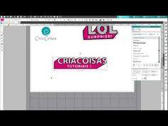 (2319) (Re)criando o Logo LOL No Silhouette Studio V4 - YouTube Doll Party, Lol Dolls, Silhouette Studio, Cricut, Logos, Youtube, Tutorials, Create A Critter, Logo